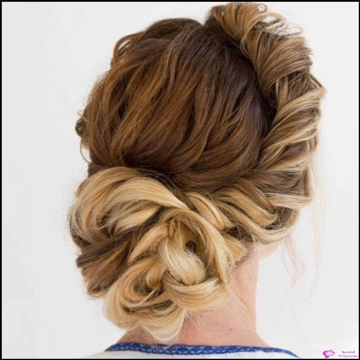 Twisted Seite Roll Updo
