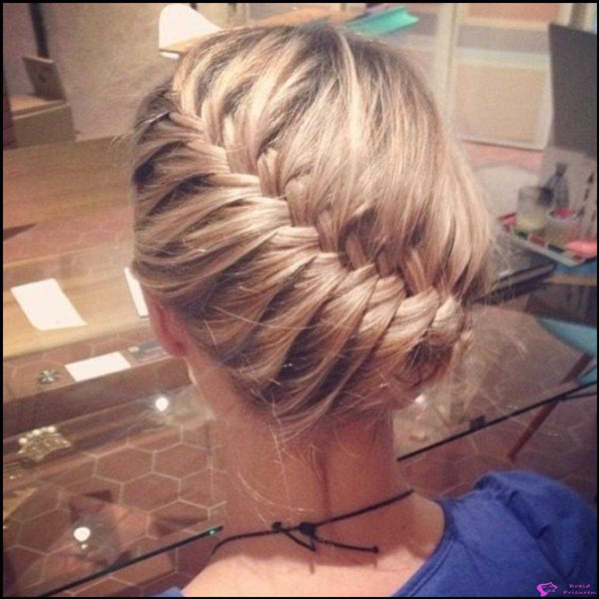 7: Prom Curved Braid Updo