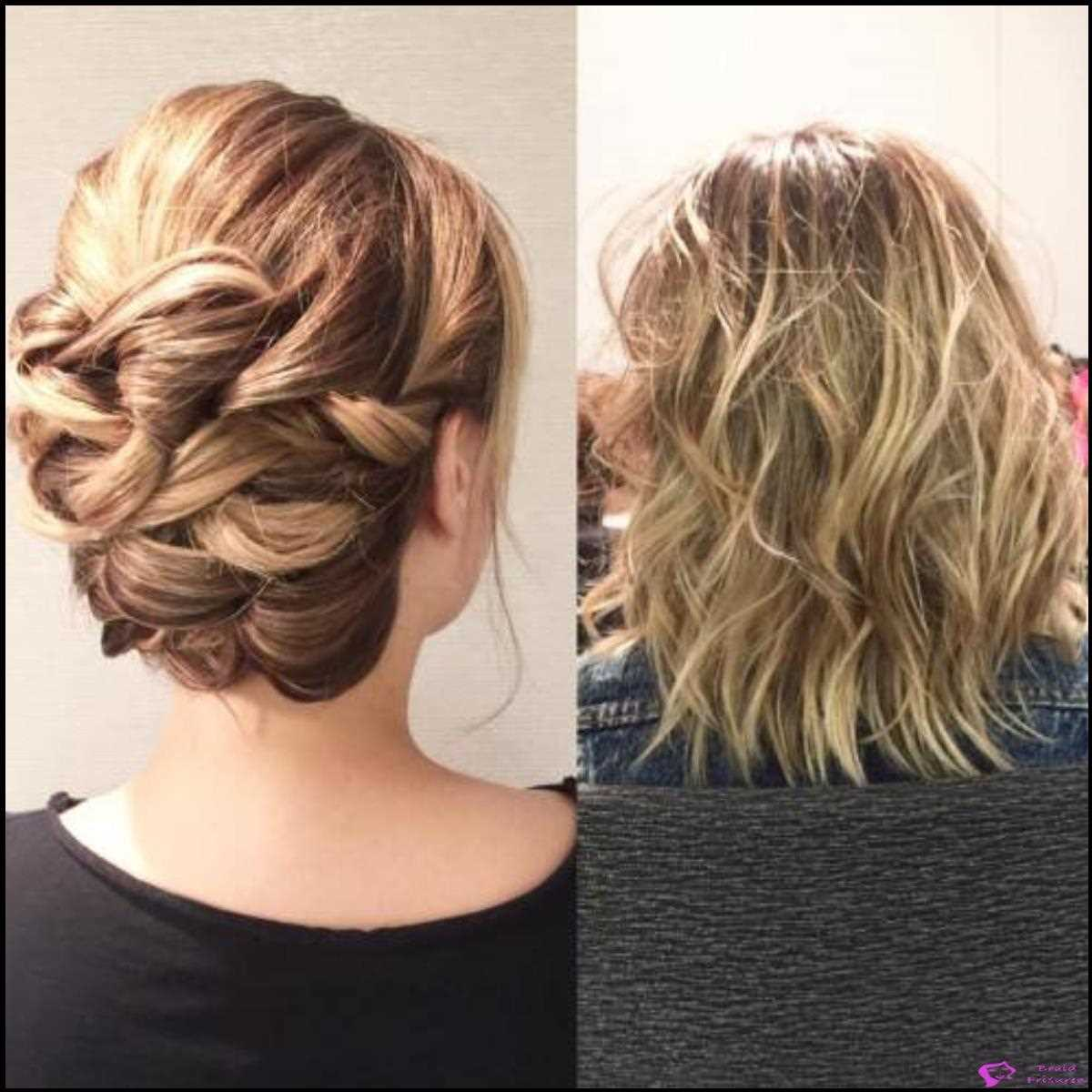 schnitte Loopy Twisted Updo