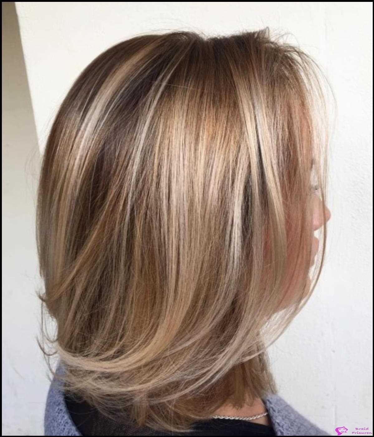 Bronde Lob mit Swoopy Layers