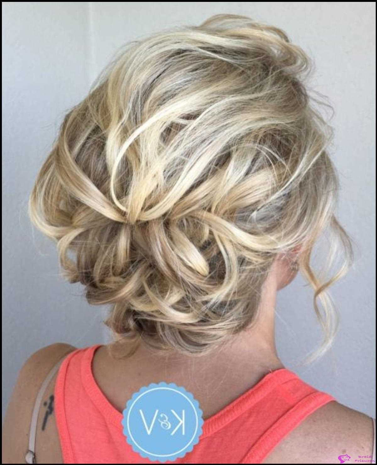 2: Lacy Loose Messy Curls Updo
