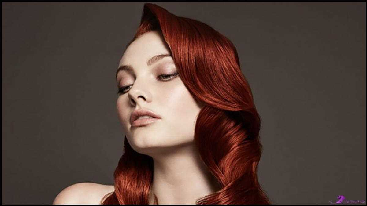 Rote Haare Dunkle Wurzeln