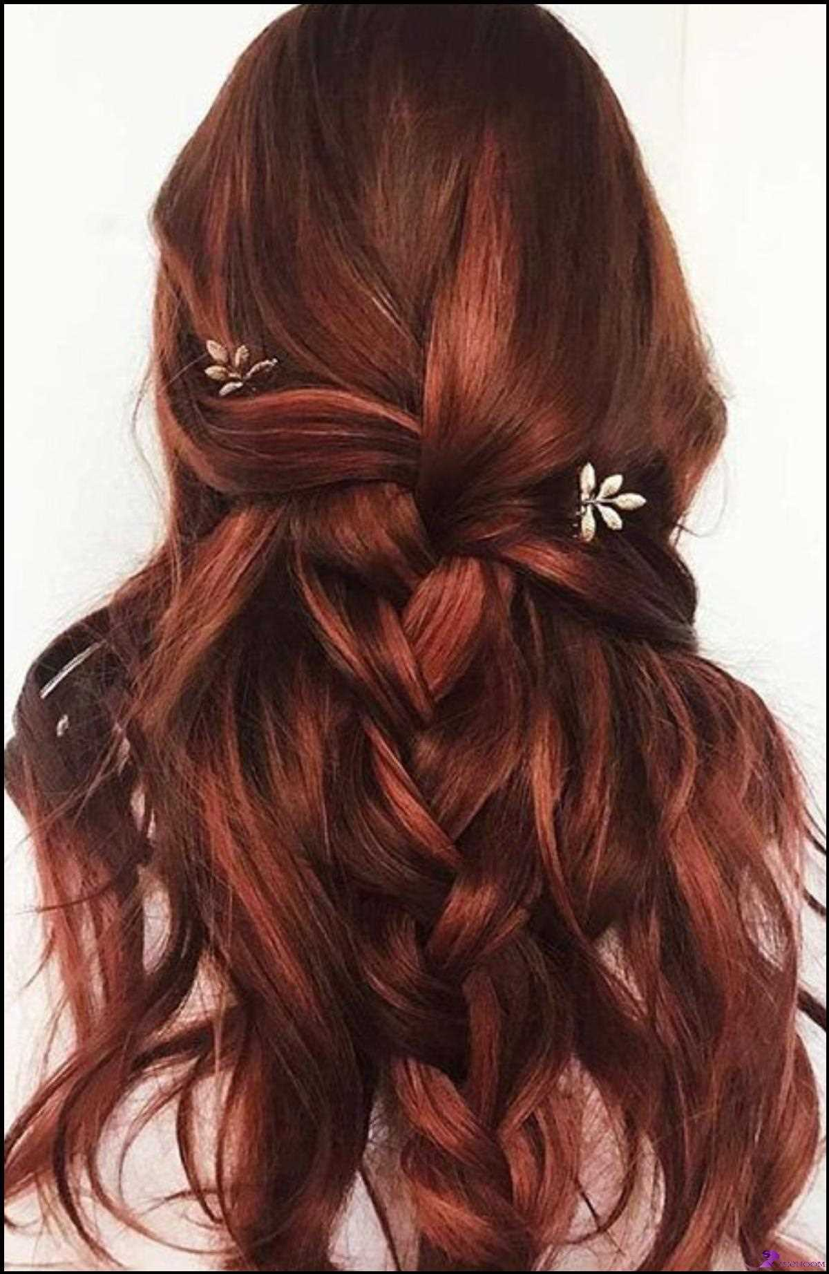 Fettes rotes Haar